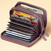 Buxton Scan Proof Compact Wallet - 28928