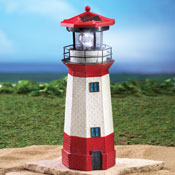 Solar Nautical Lighthouse Statue - 29492