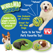 Wobble Wag Giggle Dog Toy - 30726