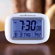 Cordless Atomic Digital Alarm Clock