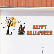 Removable Halloween Garage Magnets - 31353