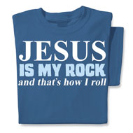 Jesus Is My Rock Novelty Tee - 31387