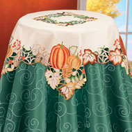 Fall Harvest Pumpkin Table Linens - 31433