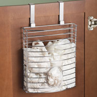 Cabinet Over the Door Bag Holder - 31542