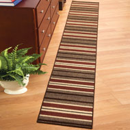 Stripe Berber Floor Runner - 31628