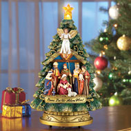 Musical Nativity Scene Christmas Tree - 31780