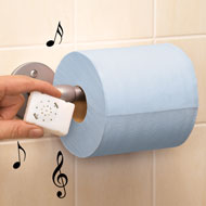 Musical Motion Activated Toilet Roll