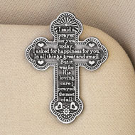 I Said A Prayer Cross Visor Clip - 31958