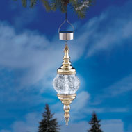 Solar Mercury Look Outdoor Ornament - 31965