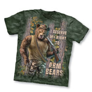 Right to Arm Bears Novelty Tee - 32362