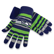 NFL Licensed Team Logo Knit Gloves - 32486