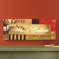Lighted Tuscan Wine Cellar Wall Art - 32514