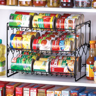 Can Storage Organizer Rack
