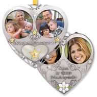 Double Picture Frame Tree Ornament - 32585
