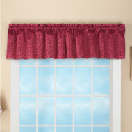 Scroll Insulated Window Valance