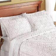 Victoria Plush Chenille Pillow Sham