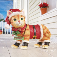 Motion Sensor Pet Christmas Yard Decoration - 32730