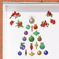 Classic Holiday Garage Magnets - Set of 30 - 32767