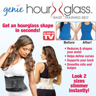 Genie Hour Glass Waist Shaper Training Belt - 32852