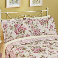 Pretty Peony Floral Pillow Sham - 32958