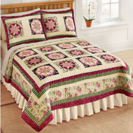 Serenade Patchwork Star Quilt - 32961