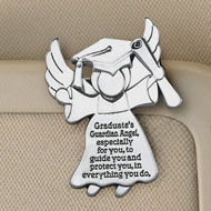 Guardian Angel Graduate Metal Visor Clip - 33207