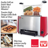 Ronco Ready Grill - Indoor Portable Electric Grill - 33241