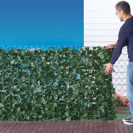 "Faux Ivy Privacy Fence Screen, 94""L - 33261"
