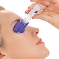Plastic Eye Drop Guide