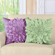Elegant Blooming Flower Pillow Cover - 33629
