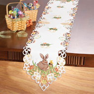 Easter Bunny and Eggs Table Linens - 33640