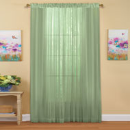 Decorative Sheer Curtain Panel - 33694