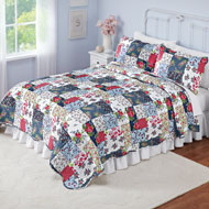 Country Savannah Patchwork Quilt