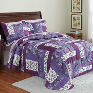 Caledonia Quilted Floral Bedspread