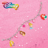 Disney Princess Beaded Charm Bracelet