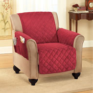 Micro Fleece Quilted Furniture Cover Protector