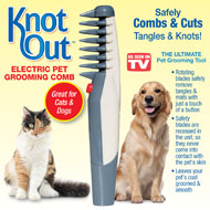 Knot Out Electric Pet Grooming Comb - 33903