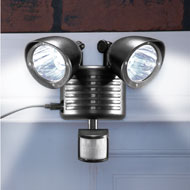 Motion Sensored Solar Security Lights