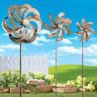 Garden Wind Spinners - Set of 3 - 34102
