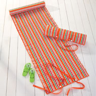 Stripe Beach Mat with Detatchable Pillow - 34181