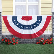 4th of July Patriotic Oversized Bunting - 34211