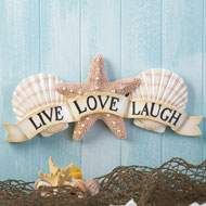 Inspirational Coastal Seashell Wall Art - 34262