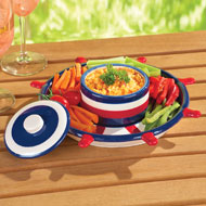 Nautical Chip and Dip Serving Set - 34275