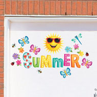 Summer Time Garage Magnets - 34443
