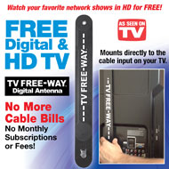 TV Free-Way HD Digital Antenna - 34673