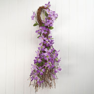 Forsythia Swag Floral Wall Decor - 34689