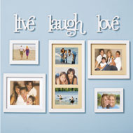 Photo Frame Wall Gallery Set - 8 pc - 34707