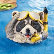 Raccoon Pool Floater Decoration - 34719