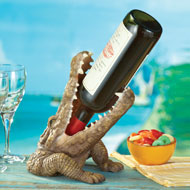Crocodile Wine Bottle Holder - 34735