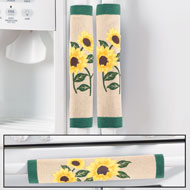 Sunflowers Kitchen Appliance Handle Covers - 3 pc - 34838